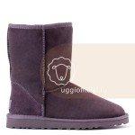 UGG Classic Short Grey