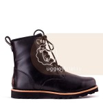 UGG Mens Hannen Black (Black Sole)