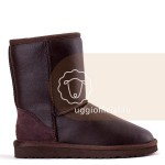 UGG Classic Short Metallic Chocolate Man