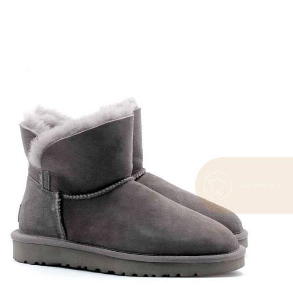 UGG Classic Mini Cuff Boot Grey