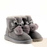 UGG Kids Gita Metallic Grey