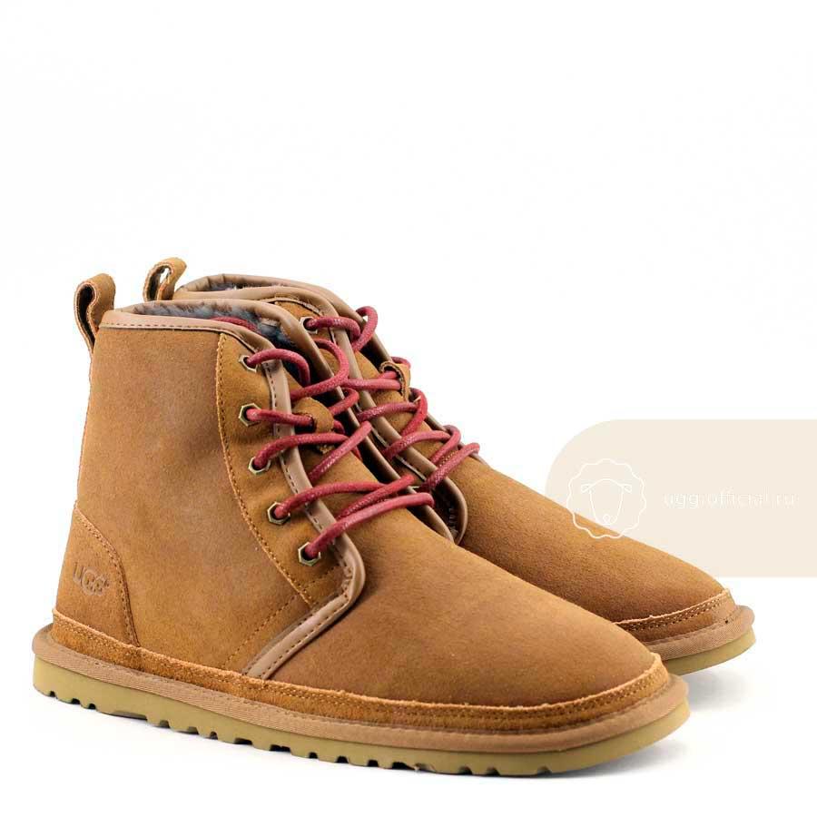 a3f5d3cde7d UGG Boots Man Harkley Chestnut