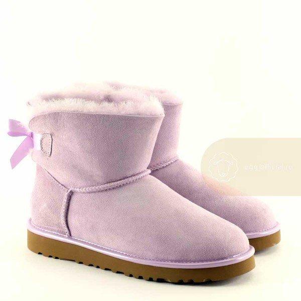 UGG Bailey Bow II Mini Lavender Fog