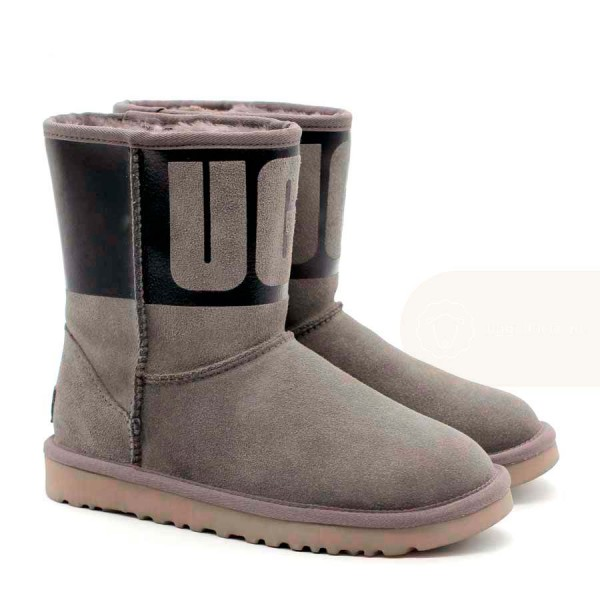 UGG Classic Short Sparkle Boot Grey