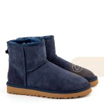 UGG Classic II Mini Navy Man Влагостойкие