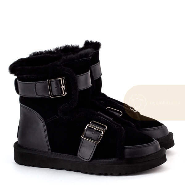 UGG Classic Mini Buckle Boot Black