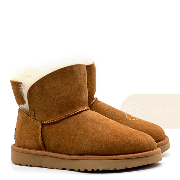 UGG Classic Mini Cuff Boot Chestnut